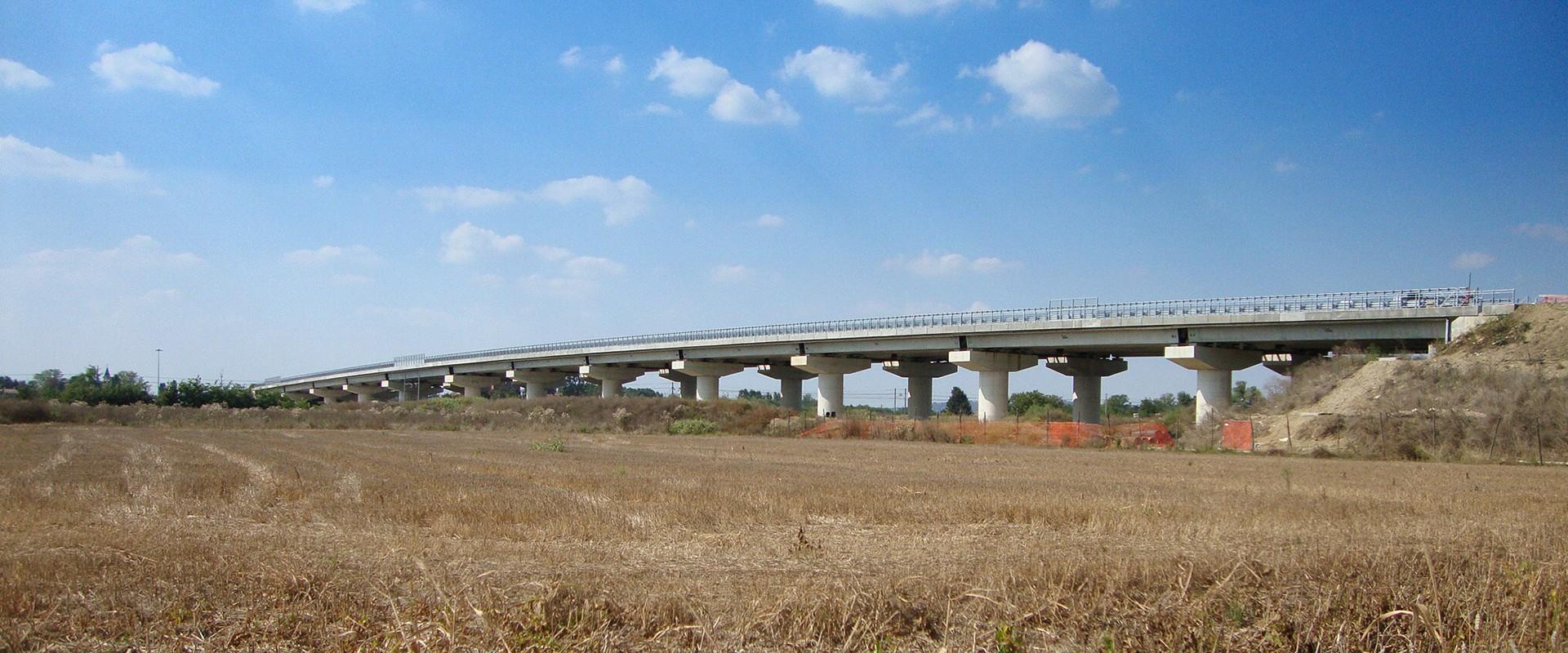 VARIANTE DI ALESSANDRIA – TRATTO OSTERIETTA: Viadotto Ferroviario