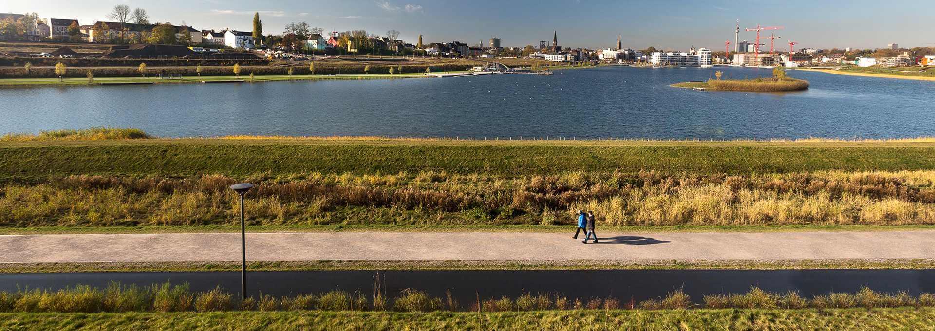 Fachbereich Umwelt - Phoenixsee Dortmund Startbild - Spiekermann GmbH Consulting Engineers