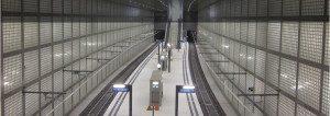 Bau des City Tunnel Leipzig - Projekte der Spiekermann GmbH Consulting Engineers