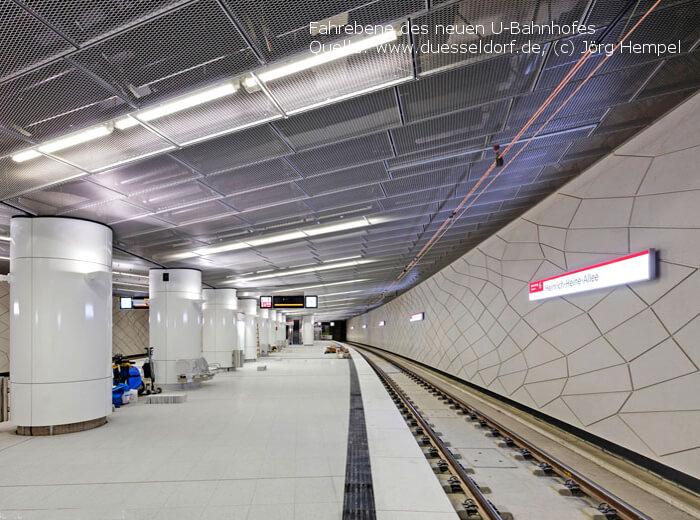 Wehrhahn-Linie Fahrebene neu von Jörg Hempel - Spiekermann GmbH Consulting Engineers