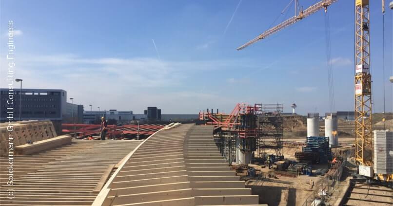Spiekermann Projekte - Brückenbauwerke Flughafen Frankfurt_3 - spiekermann ingenieure gmbh