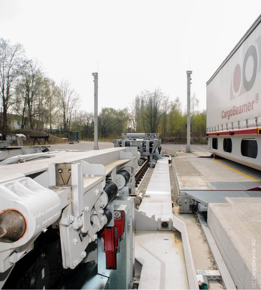 Projekt - CargoBeamer Terminal - Umschlagbahnhof 2 - Spiekermann GmbH Consulting Engineers