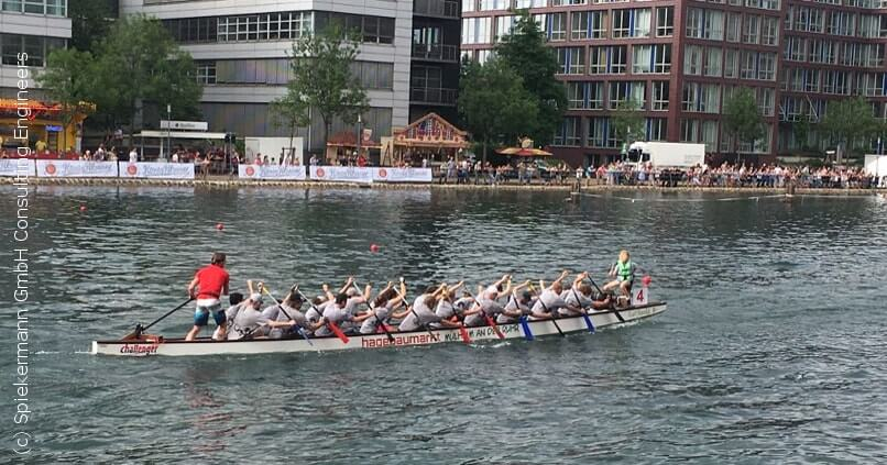 Spiekermann News - Drachenboot Regatta Duisburg 2018 - Team Spiekermann