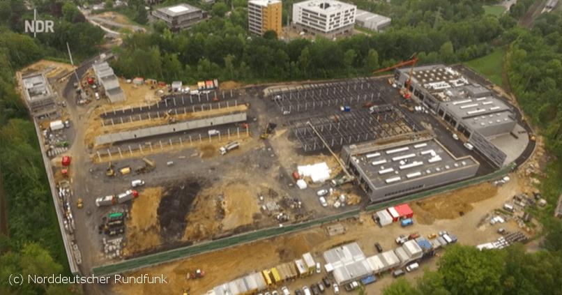 Spiekermann News - Neubau Busbetriebshof Elektrobusse in Hamburg