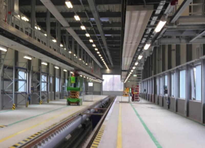 Spiekermann Projekte - Werkstatt-DB-Regio-Muenster-Detail1 - Spiekermann GmbH Consulting Engineers