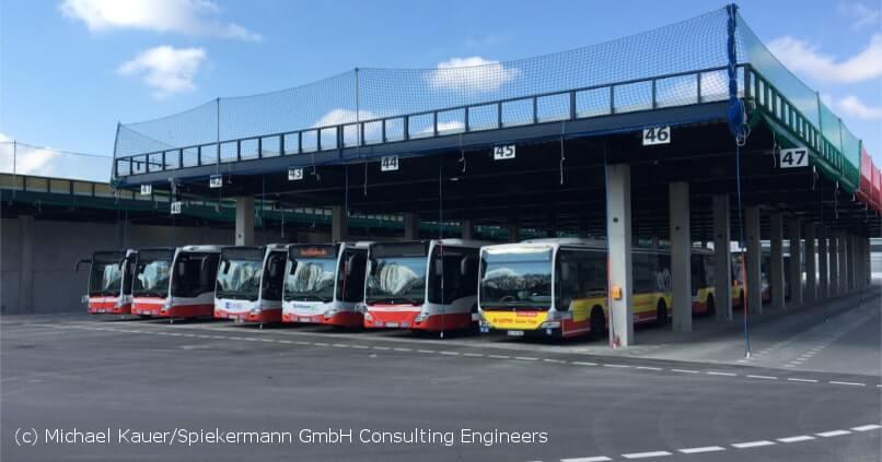 Spiekermann News - Generalplanung Busbetriebshof Hamburg Eröffnung