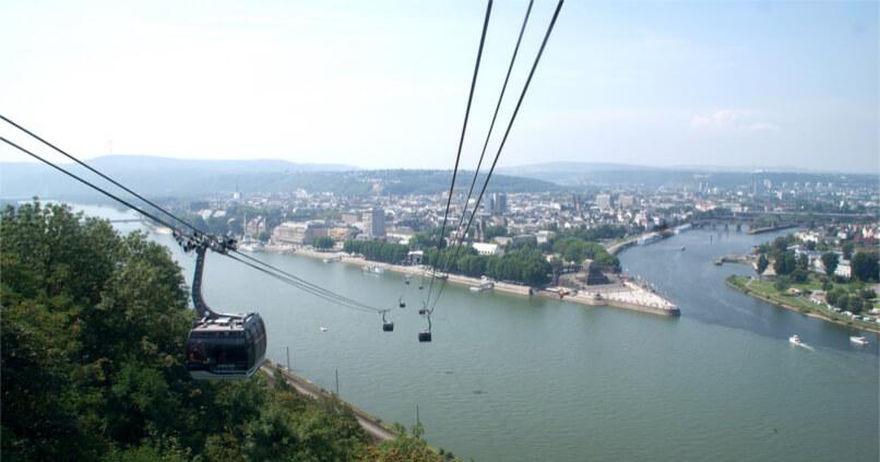 Seilbahn-Potenzialabschätzung RHEINPENDEL Köln