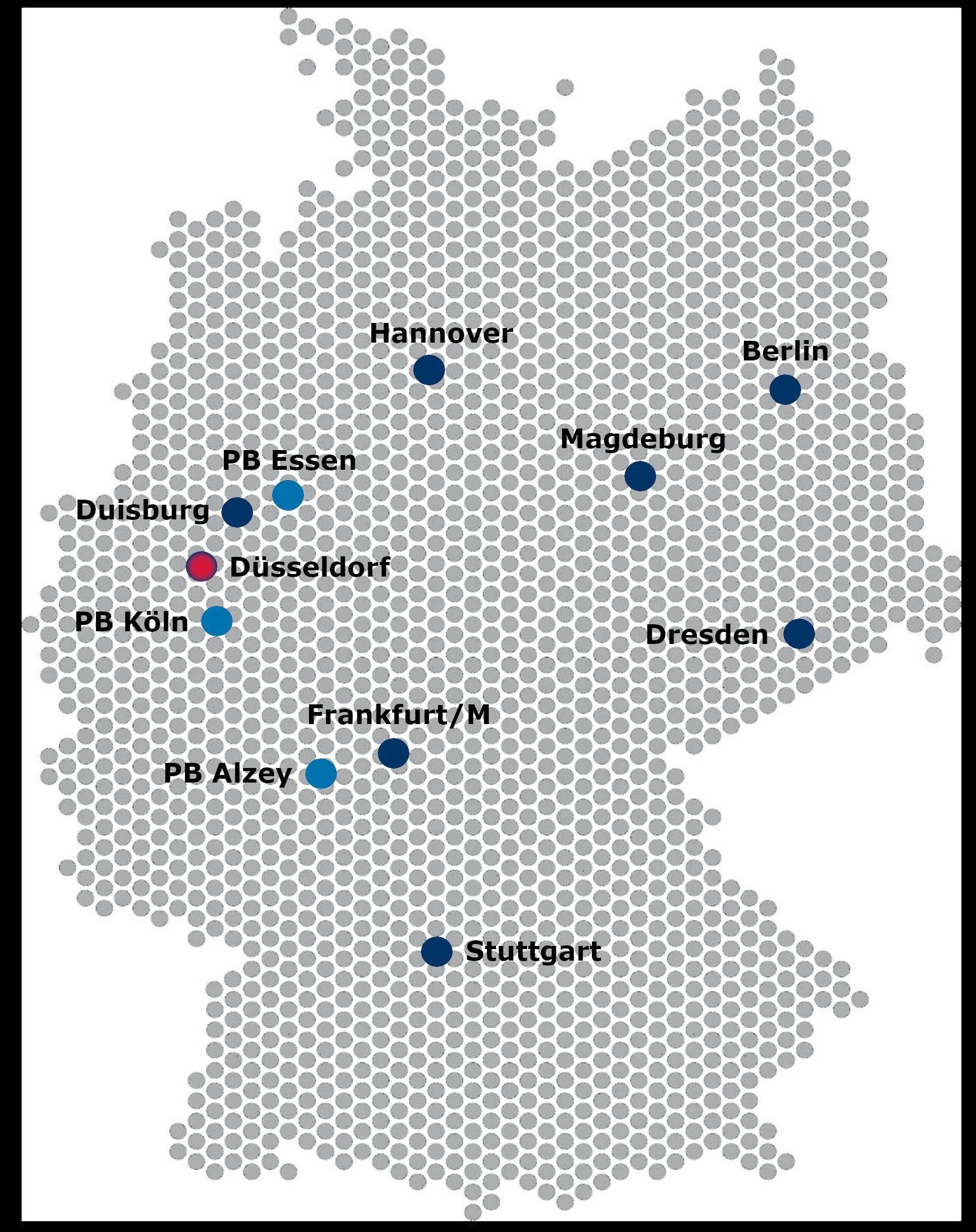 Niederlassungen Spiekermann - Spiekermann GmbH Consulting Engineers