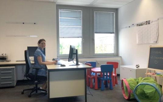 Nicht nur für Corona Krisen! Eltern-Kind-Büro bei Spiekermann