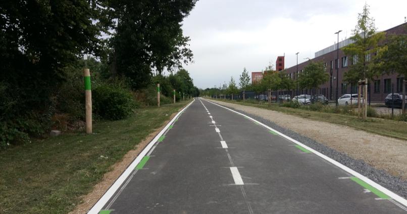 Spiekermann News - Erstes Teilstück der Krefelder Promenade eröffnet