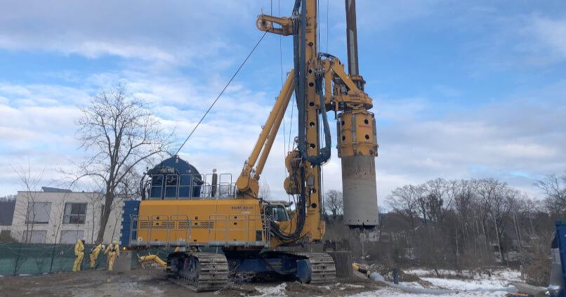 Bodensanierung (LCKW) ehemalige Chemische Reinigung Schoof