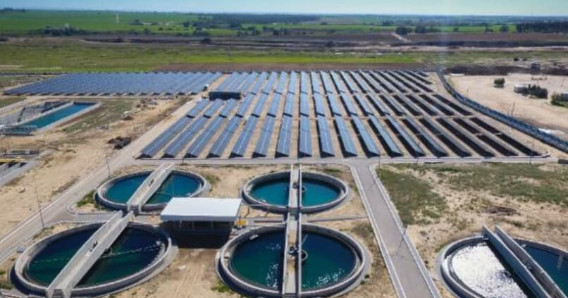 Zentrale Kläranlagen in Gaza sind zu 100 % energieautark